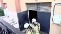 Sancaktepe'de okulda ufak çapta yangın paniğe neden oldu 1