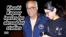 Sridevi's younger daughter Khushi leaves for abroad for studies