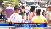 Más de 60 personas afectadas por un organizador de viaje turístico en Manabí