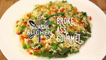 Broke Ass Gourmet How to make Risotto 2.50 per serve