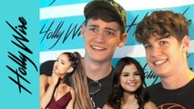 Max and Harvey OBSESS over Ariana Grande and Leave Selena Gomez A Voicemail