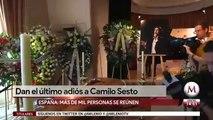 Fans despiden a Camilo Sesto en la SGAE de Madrid