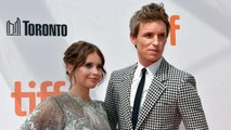 Eddie Redmayne and Felicity Jones Reunite for 'The Aeronauts' on TIFF Red Carpet