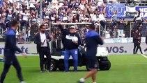 Presentación de Maradona cómo nuevo DT de Gimnasia y Esgrima de la Plata | Azteca Deportes