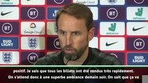 "Angleterre - Southgate : ""Très impressionné par le Kosovo"""