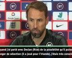 """Angleterre - Southgate : """"Rice a été un excellent apport pour notre équipe"""""""