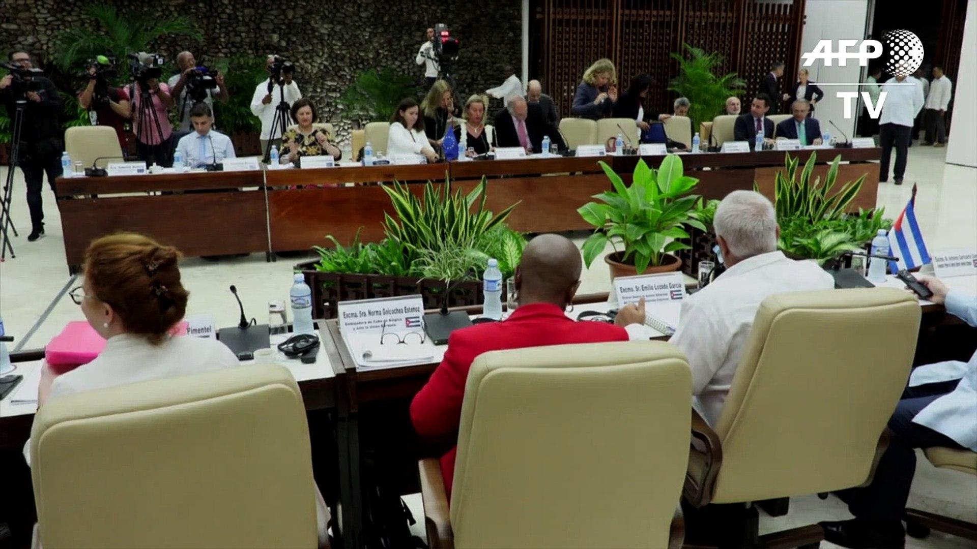Cuba y la UE refuerzan sus lazos y rechazan la ley Helms-Burton de EEUU
