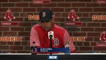 Alex Cora Calls David Ortiz' Rockstar Baseball Player' After First Pitch