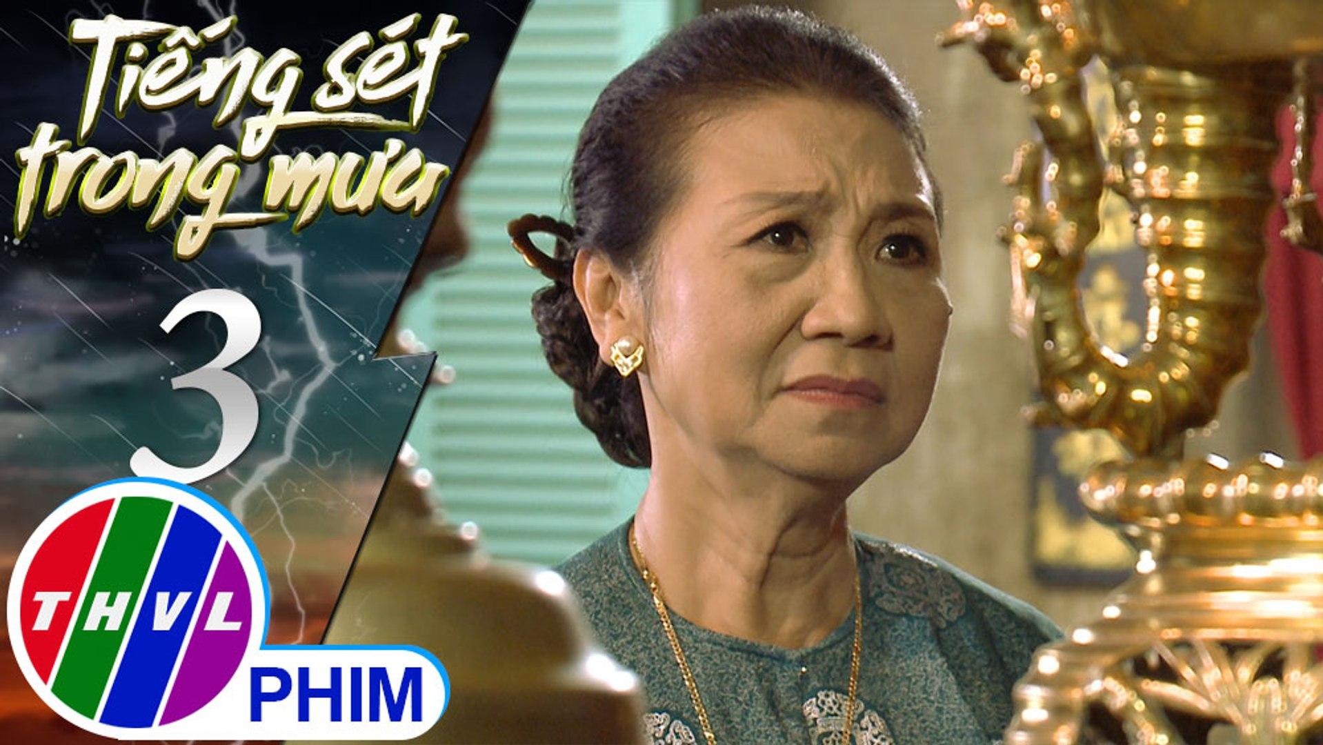 THVL | Tiếng sét trong mưa - Tập 3[5]: Bà Hội nhớ lại chuyện Khải Duy vô tình đánh chết người