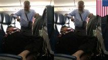 讓老婆睡好覺 男子飛機走道一站6小時 網友瘋傳