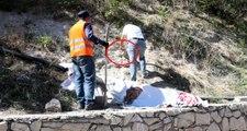Karabük polis 3 gün boyunca nöbet tuttu, heykeltıraşın yaptığından şüphelenildi