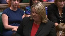 MP for Peterborough Lisa Forbes giving her maiden Commons speech