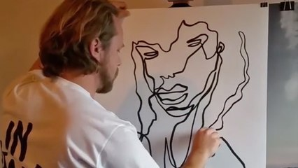This Instagram Artist Creates Amazing Work from a Single Line