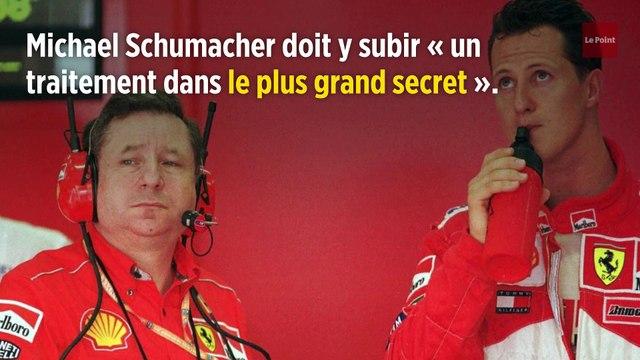 Michael Schumacher hospitalisé à l'hôpital Georges-Pompidou