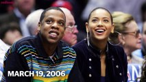 A Brief History of Beyoncé Slaying Courtside Style