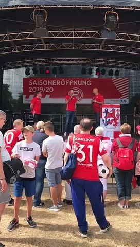 Saisoneröffnung Fortuna Düsseldorf