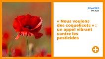 « Nous voulons des coquelicots » : un appel vibrant contre les pesticides