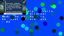 [Read] Ferrets, Rabbits, and Rodents: Clinical Medicine and Surgery, 4e  Best Sellers Rank : #2