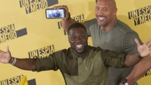 Dwayne Johnson gives health update on Kevin Hart