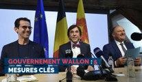 Gouvernement wallon : 5 mesures clés