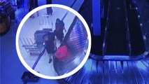 Suitcase Thieves Caught On Camera