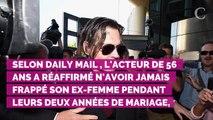 """Johnny Depp réaffirme n'avoir jamais frappé Amber Heard : """"Elle déguise la vérité"""""""