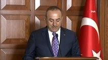 """Dışişleri Bakanı Çavuşoğlu: (Güvenli bölge mutabakatı konusu) """"ABD maalesef terör örgütüyle girdiği..."""