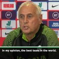 England are 'the best team in the world' - Kosovo coach Challandes