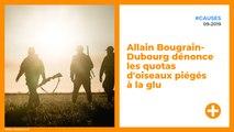 Allain Bougrain-Dubourg dénonce les quotas d'oiseaux piégés à la glu
