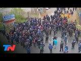 Tensión en una planta de YPF en Ensenada por una protesta de la UOCRA