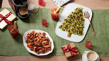 Fruit Salad Christmas Tree