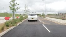From roundabouts to motorways: The driverless car let loose on UK roads