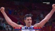 Coupe du Monde FIBA 2019 - 1/4 finale - Incroyable séquence de l'Argentine !