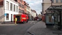 Tournai : incendie rue st Piat