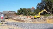 Soignies: la première pierre du futur nouveau quartier Arborescence a été posée
