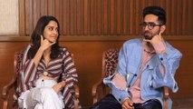 Ayushmann Khurrana seduces Rajkumar Rao, Vicky Kaushal & Aparshakti Khurana: Watch | FilmiBeat