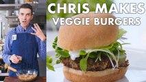 Chris Makes Veggie Burgers