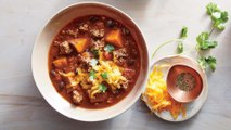 How to Make Slow Cooker Beef and Sweet Potato Chili