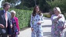 Kate Middleton, con el vestido de flores perfecto para el verano y el otoño