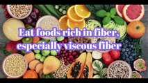 Eating fiber does not lead to obesity فاءبر والی خواک کھاءیں اور موٹاپے سے نجات حاصل کریں/reduce fat /flatten belly fat by fibers
