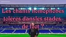 Chants homophobes dans les stades