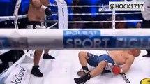 Knockout of the day in Kaluszyn! Polish heavyweight Jacek Chruslicki 5-0, 3 KO's with the knockout of Mateusz Cielepaia 1-1 boxing