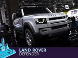 Land Rover Defender en direct du salon de Francfort 2019