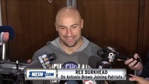 Rex Burkhead On Antonio Brown Joining Patriots