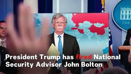 Trump Fires National Security Advisor Bolton, Informs Him Through Twitter