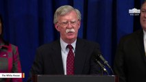John Bolton Tweets His Version Of Events After Trump Announces His Firing
