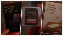 SanDisk IFA 2019 - 1 TB Extreme Pro SD, Extreme Pro Portable SSD, iXPand Wireless Charger und CFexpress Card B