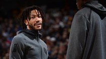 Derrick Rose On Managing Playing Time: 'If I Could Play, I'm Going to Play'