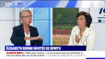 """Élisabeth Borne: """"il faut réduire globalement l'utilisation de pesticides"""""""