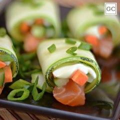 Sushi de abobrinha   Receitas Guia da Cozinha